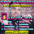 Good Vibrations DJ Entertainment-Long Island DJs